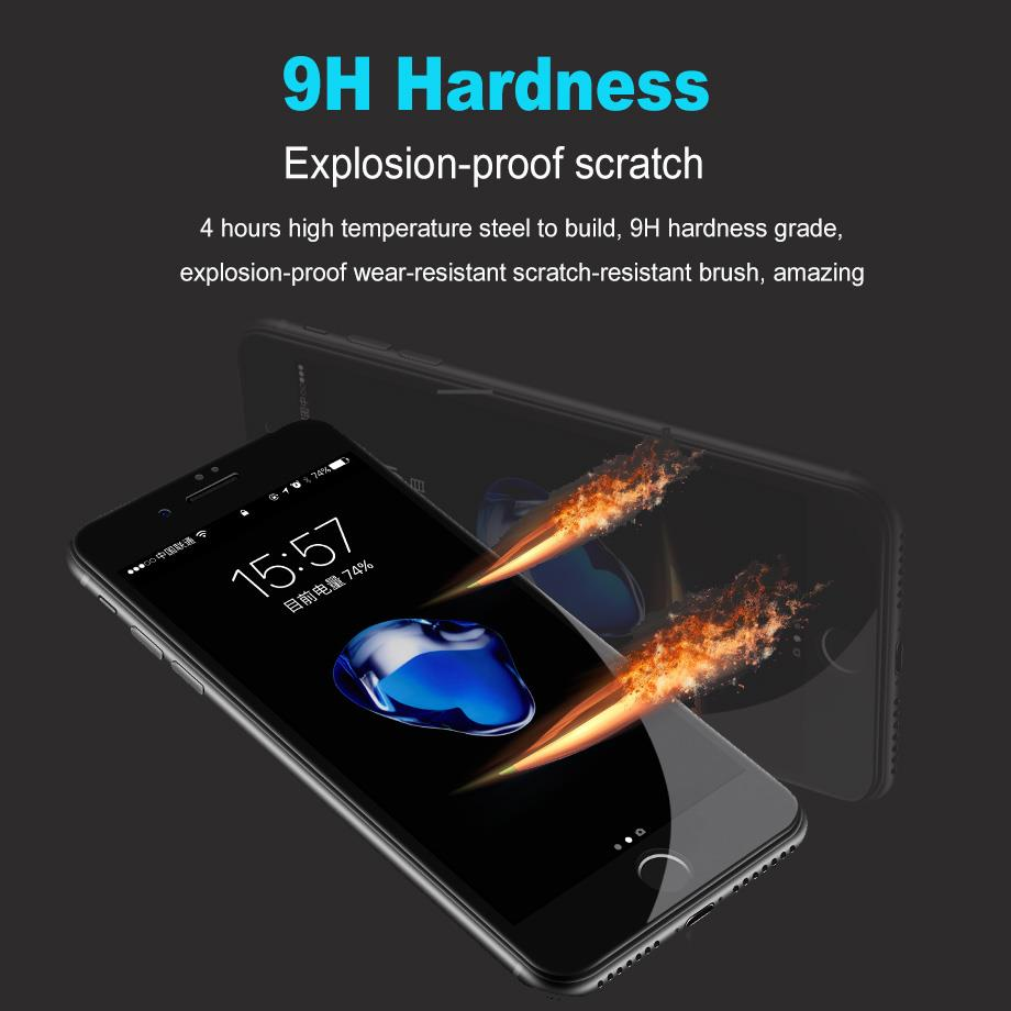 Oppo F5 R9s R11 5D Full Cover Tempered Glass Screen Protector