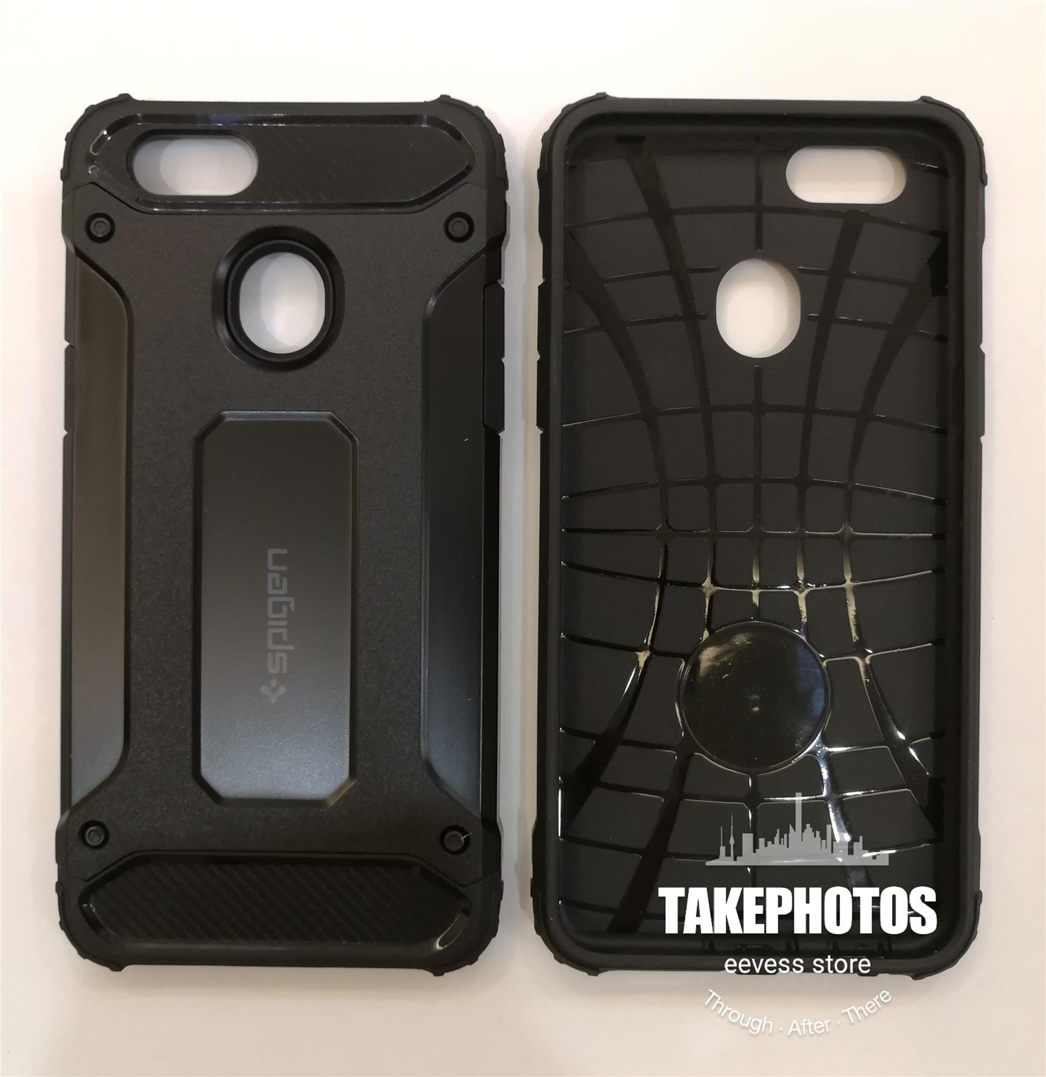 best service a5922 82f70 Oppo F5 Spigen Tough Armor Hybrid Shockproof Case Cover