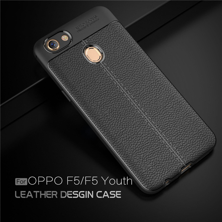 best sneakers b0747 129b4 OPPO F5 Ultra Thin Luxury PU Leather Soft Shockproof Case Cover