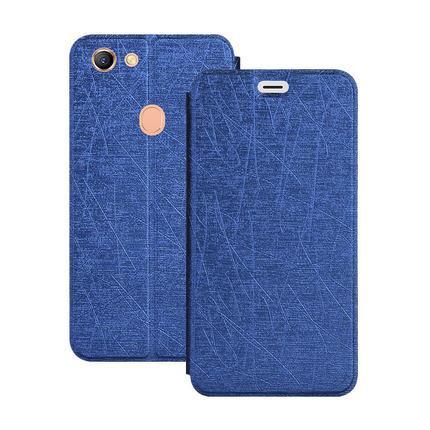 reputable site 71ec7 b2218 Oppo F7 Leather Silk Full Flip Egypt Slim Thin Case Casing Cover