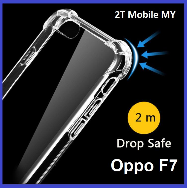 size 40 4e192 04c84 Oppo F7 Transparent TPU Shockproof Bumper Antidrop Case