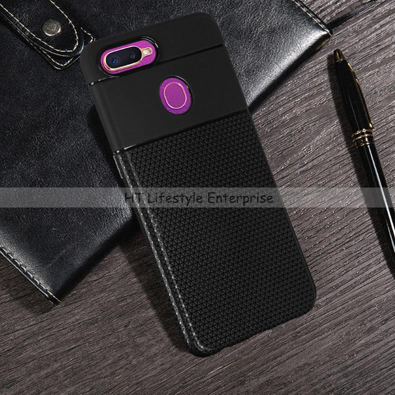 Oppo F9 Anti-Slip/Fingerprint Soft TPU Protective Case