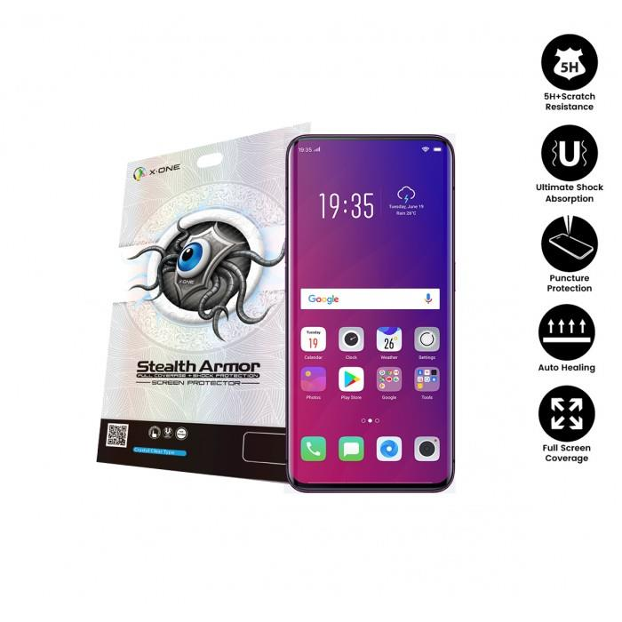 Oppo Find X X-One Stealth Armor Full Cover Screen Protector