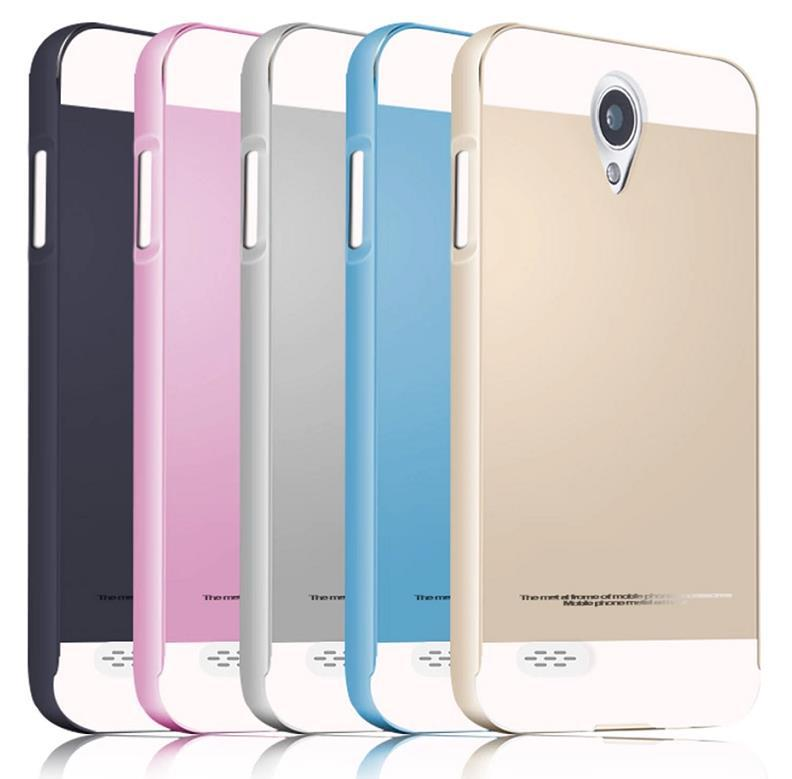 official photos 18ca9 089b9 OPPO JOY 3 JOY3 A11 Metal Frame Back Case Cover Casing +Gifts