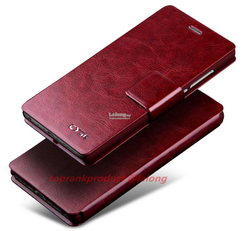 OPPO Mirror 5 5S A51 A51F Flip PU Leather Stand Case Cover Casing