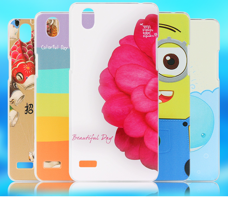 OPPO Mirror 5 5S A51 Cartoon Design Hard Back Case Cover Casing +Gift