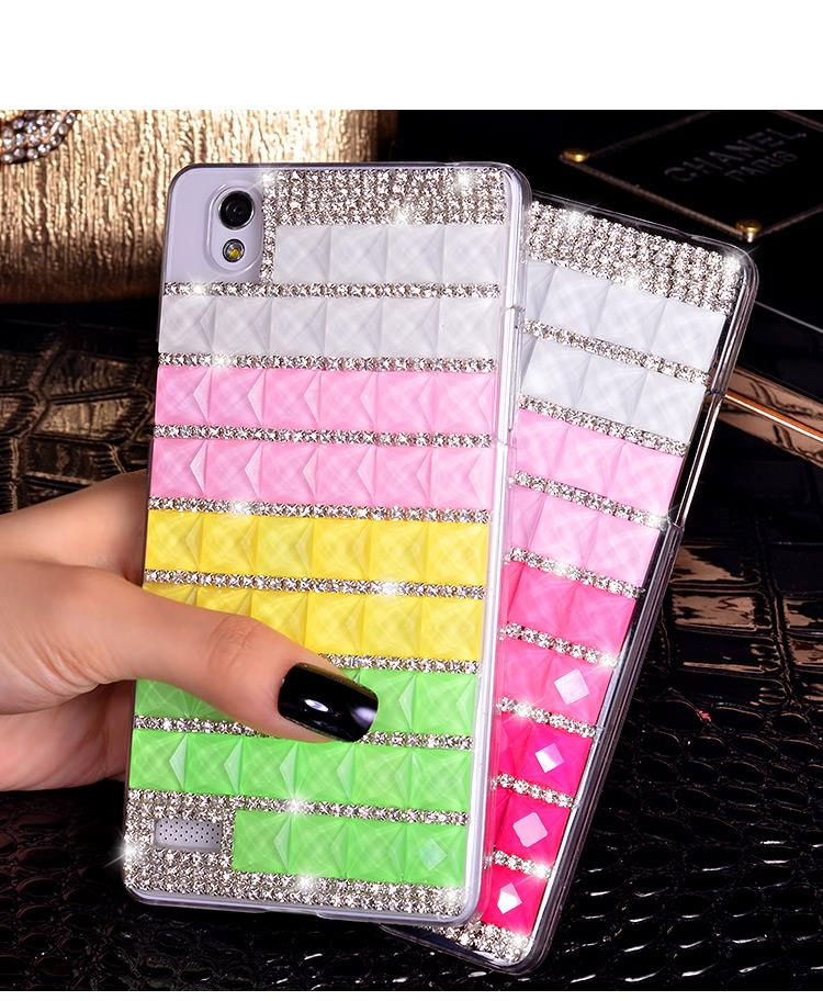 OPPO Mirror 5 5S A51 Colorful Diamond Transparent Case Cover Casing