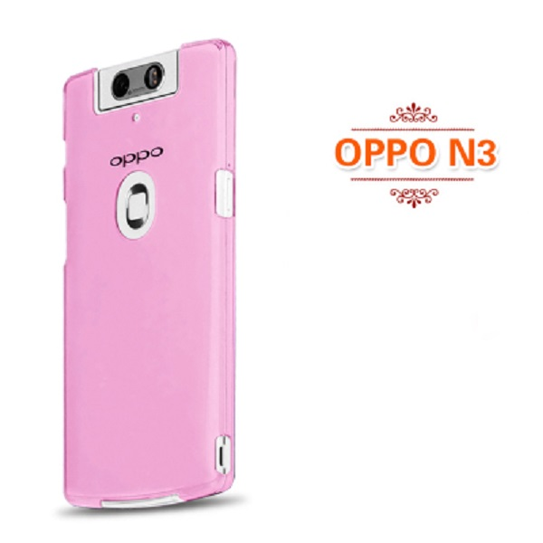 promo code 70095 14032 Oppo N3 N5207 TPU Silicone Soft Back Case Cover Casing-Rose Red