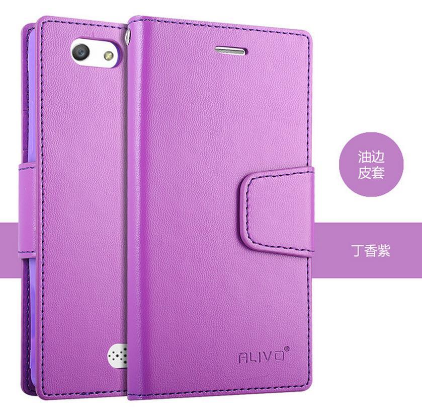 OPPO Neo 5 5S A31 Flip PU Leather Case Cover Casing + Free Gift