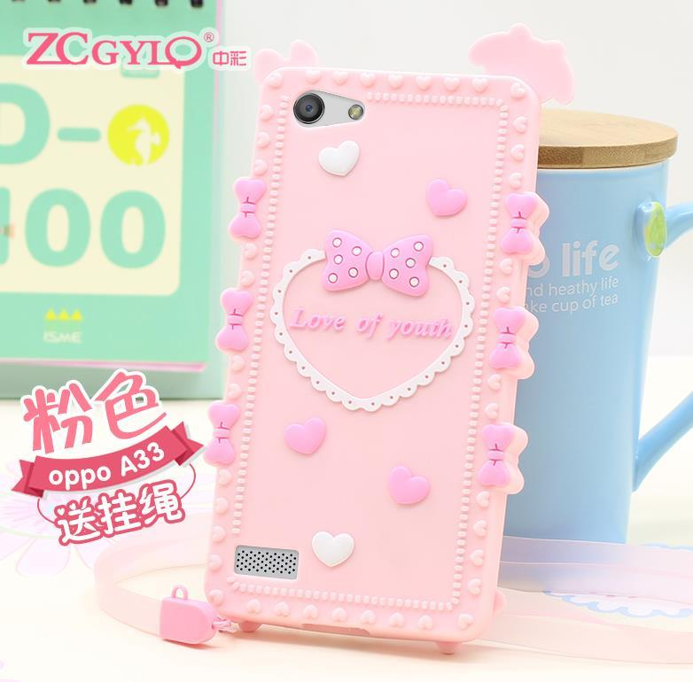 san francisco f99c7 1f1e5 OPPO Neo 5 7 A31 A33 ShakeProof Silicone Case Cover Casing + Free Gift