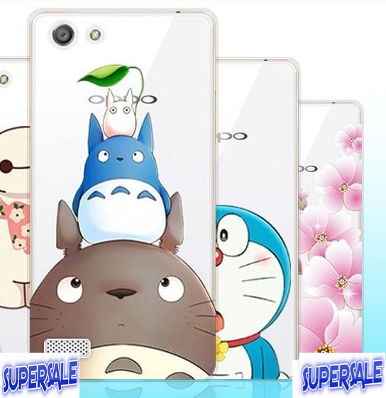 Oppo Neo 7 (A33) Transparent Thin Silicon Cute Casing Case Cover
