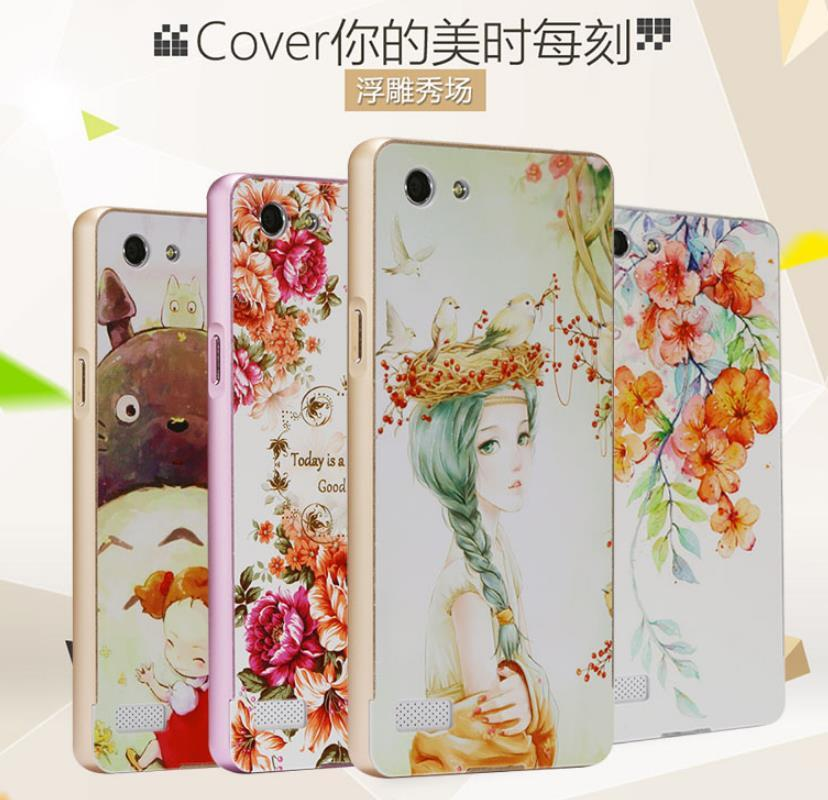 premium selection ec543 8c24c OPPO Neo 7 Neo7 A33 3D Relief Metal Frame Case Cover Casing +Free Gift