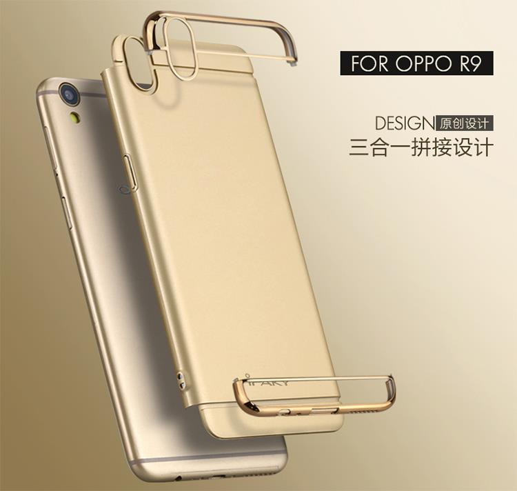 buy popular fc701 b4cd4 Oppo R9 F1 Plus Original iPaky Perfect Slim Fit Back Case Cover