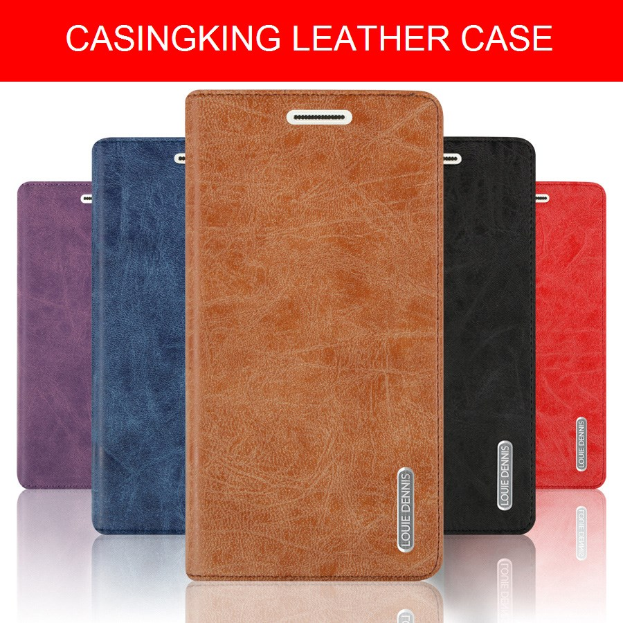 half off 98cc3 24aab OPPO R9S R9S Leather Flip Case Casing Cover Wallet