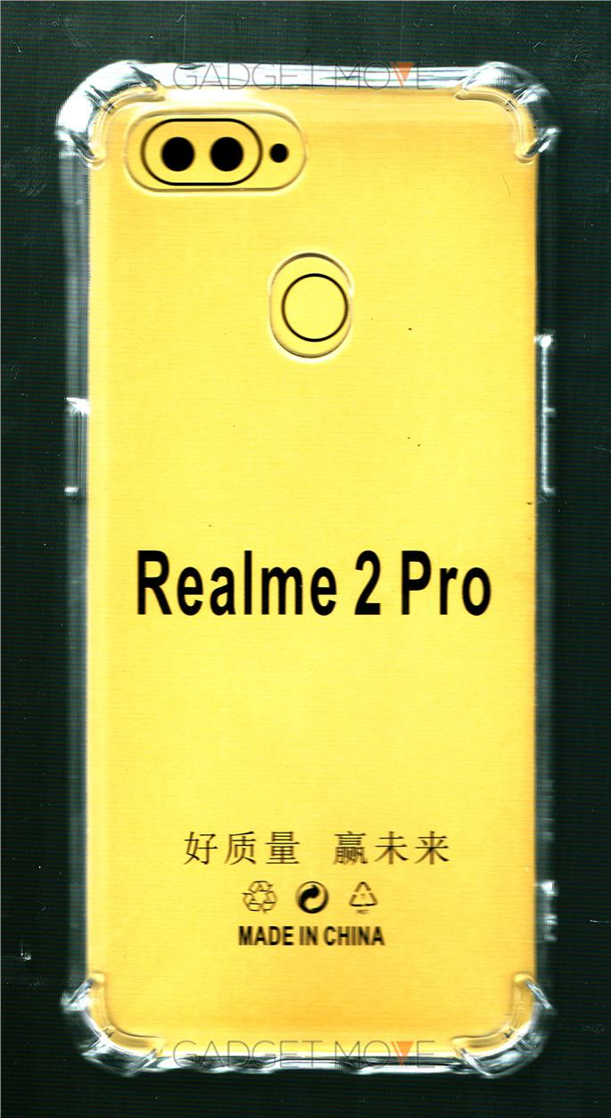 oppo RealMe 2 Pro Anti Crash Shock Proof AirBag Case Cover