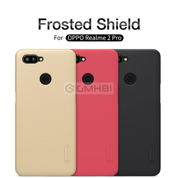 Oppo Realme 2 Pro Nillkin Super FROSTED Shield Hard Back Cover Case