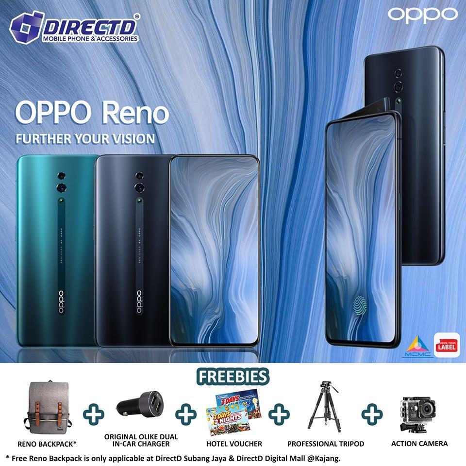 OPPO RENO (256GB ROM) LATEST MODEL! ORIGINAL set + 5 FREEBIES