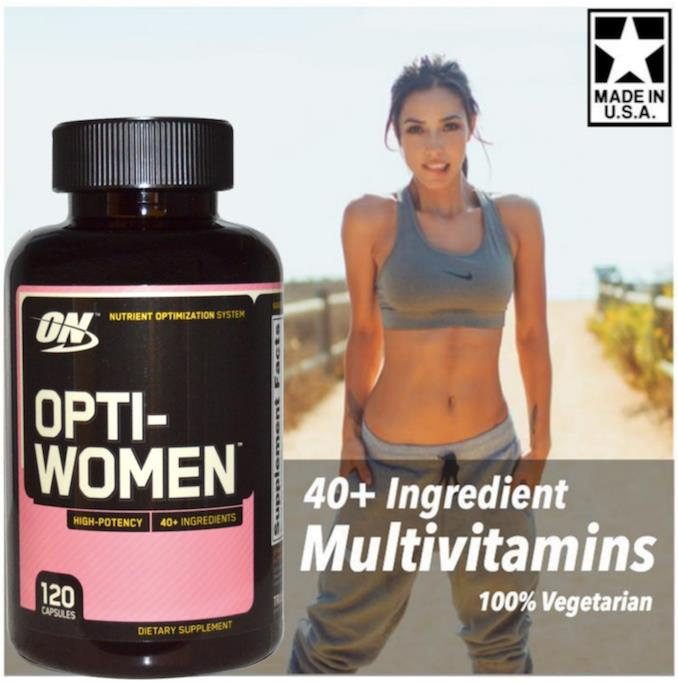 Opti-Women, 100% Vegetarian (Optiwomen, Multivitamins) 120 Caps