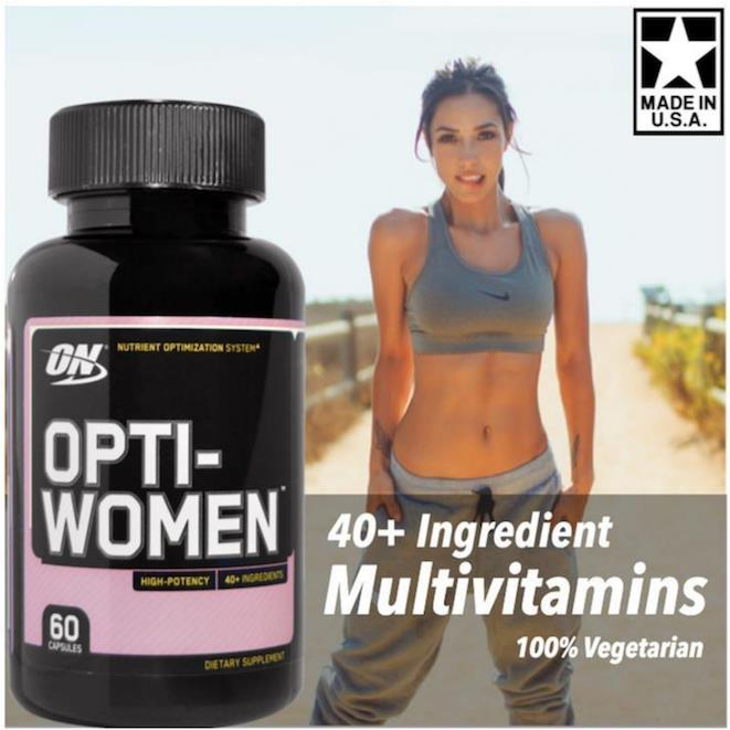 Opti-Women, 100% Vegetarian (Optiwomen, Multivitamins) 60 Caps