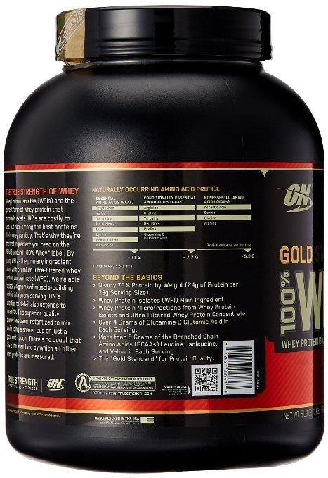 Optimum Nutrition 100% Whey Gold Standard 5 lbs - Cookies & Cream