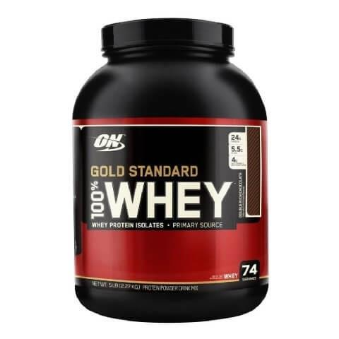 Optimum Nutrition Gold Standard Whey 5 lbs - Double Rich Chocolate
