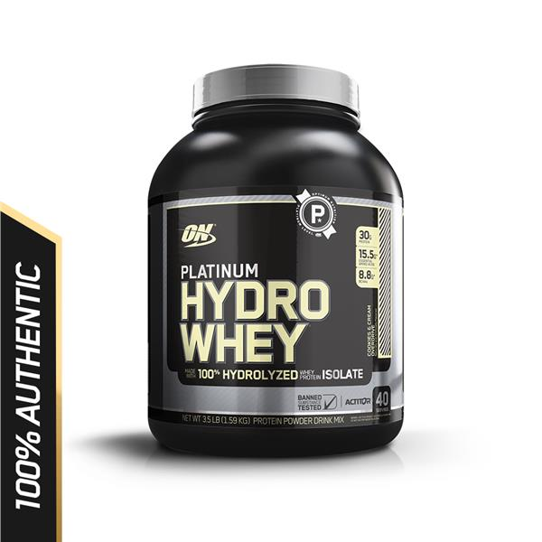 Optimum Nutrition Platinum Hydrowhey 3.5 lbs - Cookies  & Cream