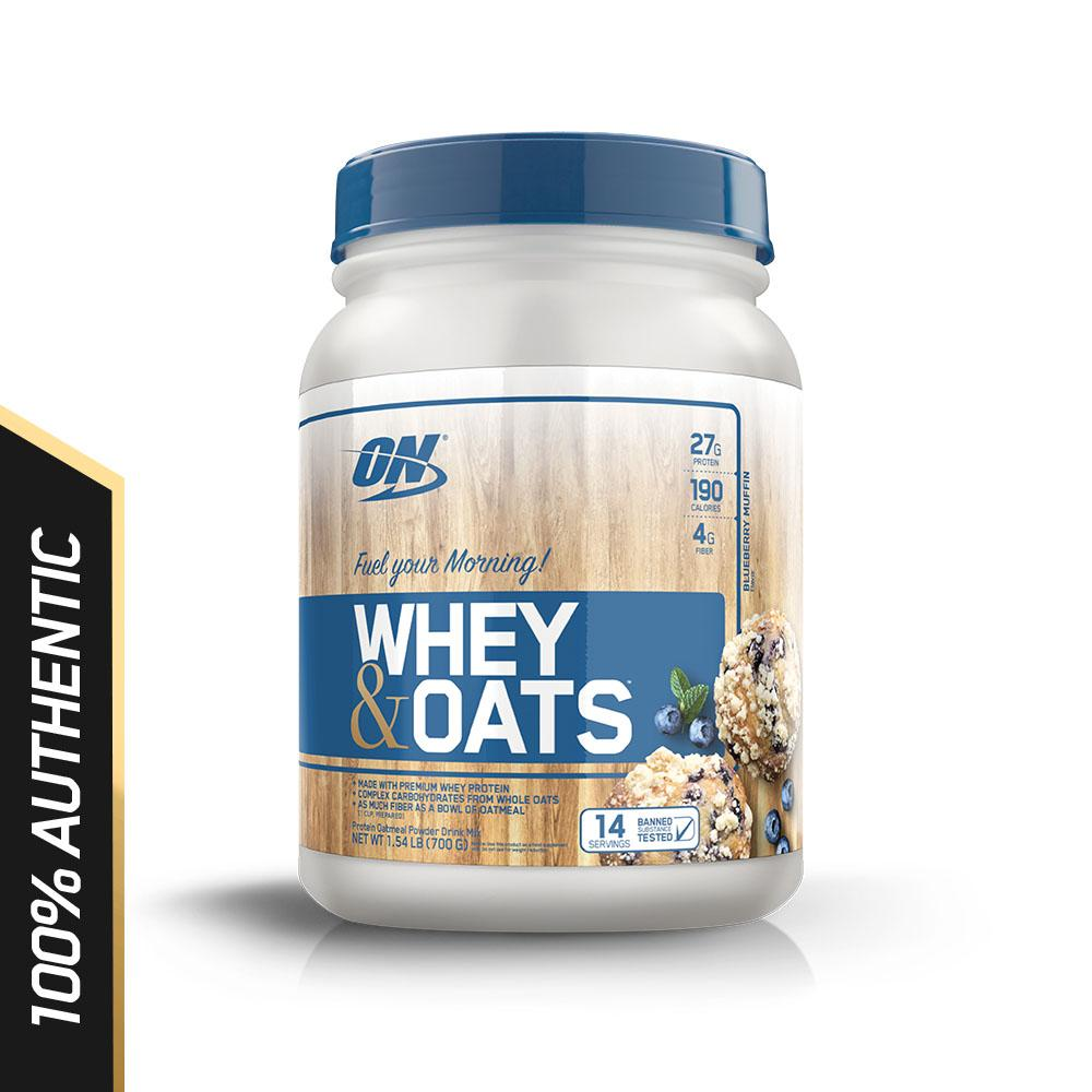 Optimum Nutrition Whey  & Oats 1.5 lbs - Blueberry Muffin