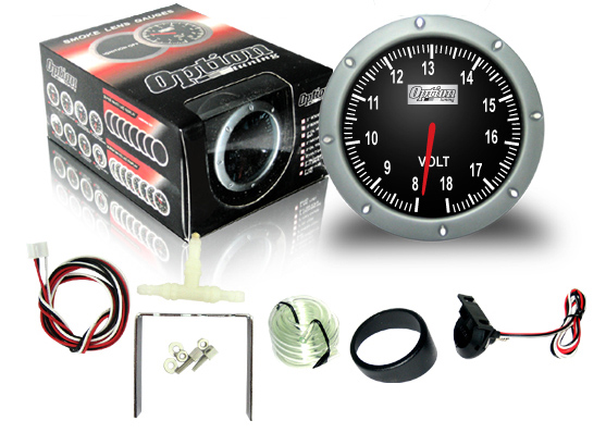 <B>*NEW* OPTION TUNNING 360 Degree Smoke Gauge Volt Meter</B>