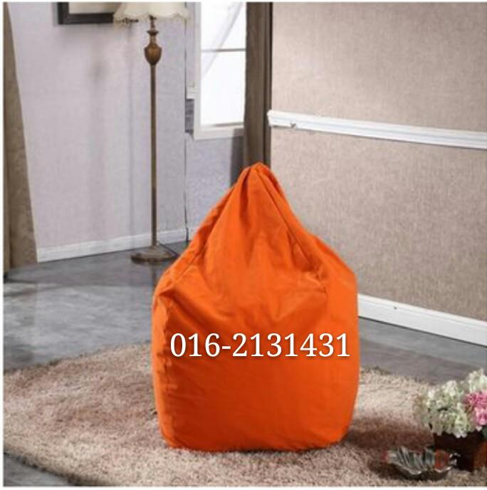 Orange Bean Bag Chair Sofa Furniture Kerusi Perabot. U2039 U203a