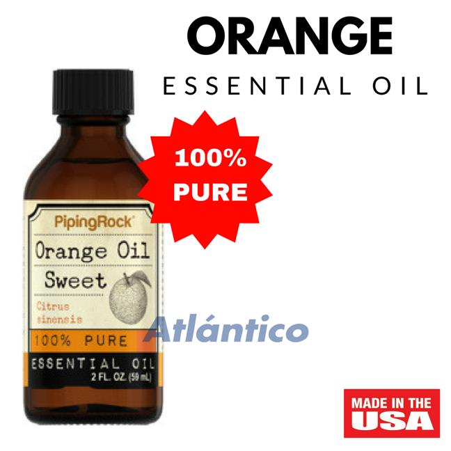 Orange Sweet 100% Pure Essential Oil 59ml Bottle(Massage Aromatherapy)