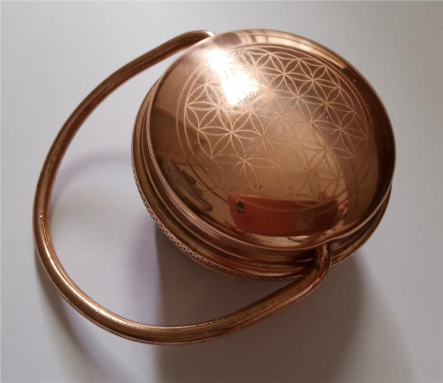 Orenda India Hammed Copper Bottle