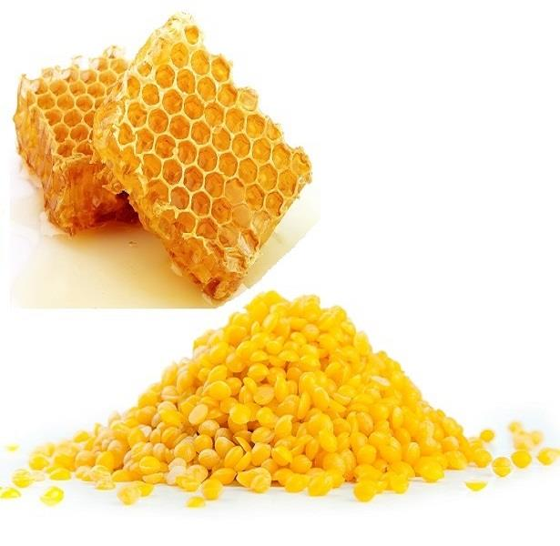 Organic & 100% Pure Yellow Beeswax  (100g) Made in USA