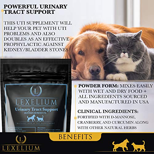 Organic Urinary Tract Infection (UTI) Support for Dogs and Cats | Fortified wi