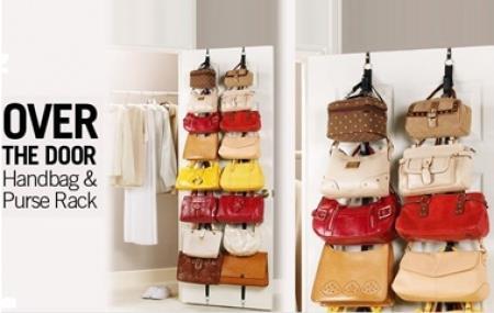 organise your handbags bag rack