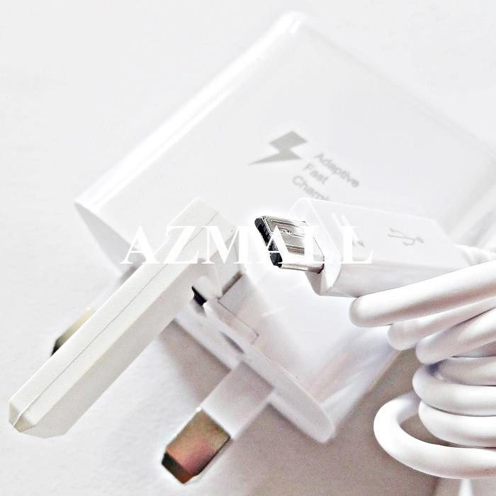 ORI 15W Charger Micro USB Cable Samsung Note 4 5 S6 S7 Edge A9 Pro