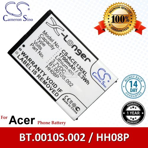 Ori CS ACE130XL Acer beTouch E130 / E130 B / E140 Battery