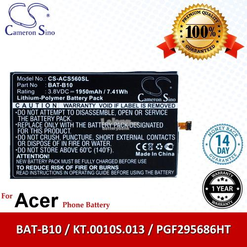 Ori CS ACS560SL Acer BAT-B10 / PGF295686HT / KT.0010S.013 Battery