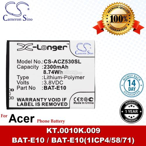 Ori CS ACZ530SL Acer BAT-E10 / KT.0010K.009 Battery