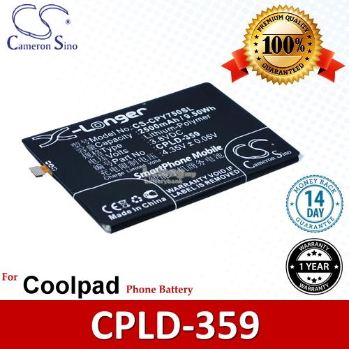 Ori CS CPY750SL Coolpad T2-C01 Y75 Y76 Y80C Y80D Y90 Battery