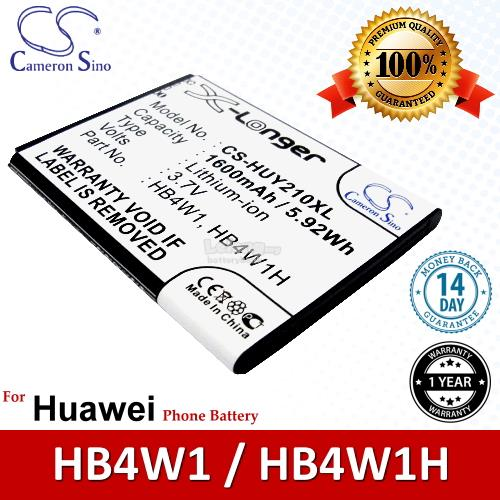 Ori CS HUY210XL Huawei Ascend W2 W2-U00 W2-T00 W2-101 Battery