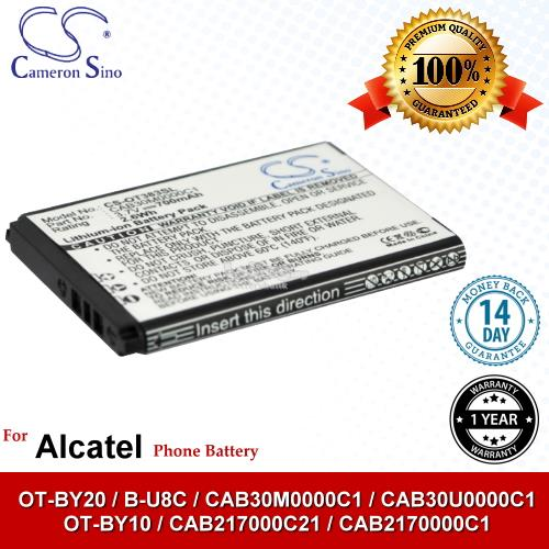 Ori CS OT383SL Alcatel OT-BY10 / CAB217000C21 / CAB2170000C1 Battery
