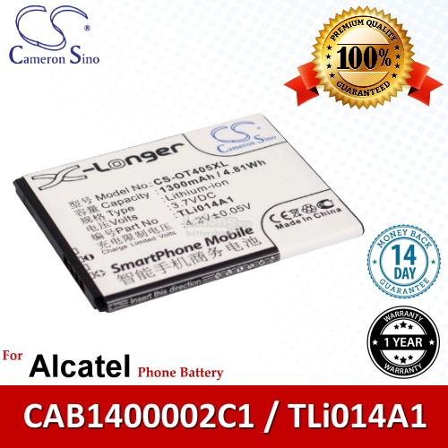 Ori CS OT405XL Alcatel One Touch T'Pop 4010X OT-4010X Battery
