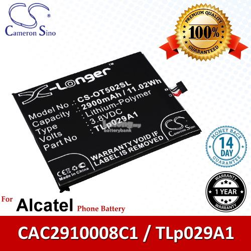 Ori CS OT502SL Alcatel One Touch Pop 3 5.5 5025 OT-5025 Battery