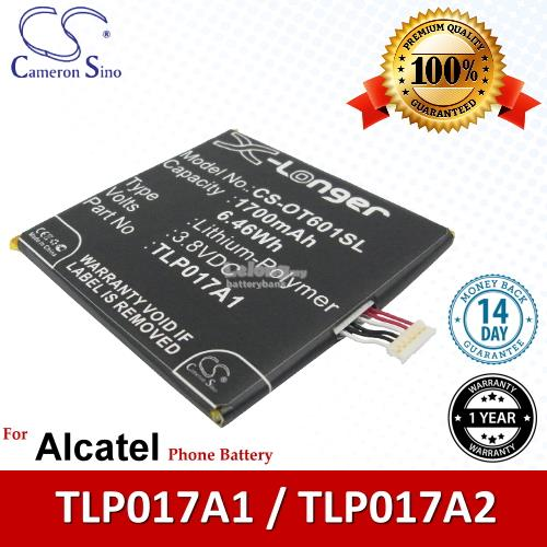 Ori CS OT601SL Alcatel One Touch Idol Mini Dual 6012W OT-6012W Battery