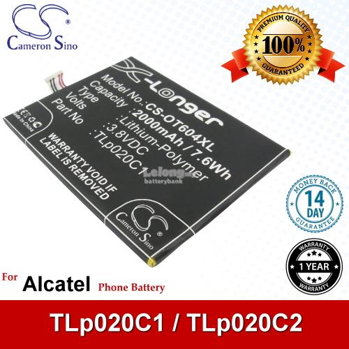 Ori CS OT604XL Alcatel One Touch Idol 3 4.7 6039Y OT-6039Y Battery