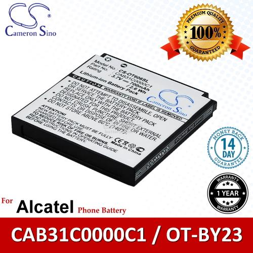 Ori CS OT606SL Alcatel OT-BY23 / CAB31C0000C1 Battery