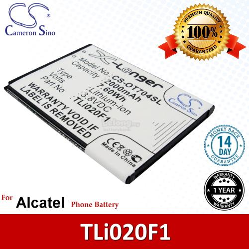 Ori CS OT704SL Alcatel One Touch Pop C7 7041X OT-7041X Battery