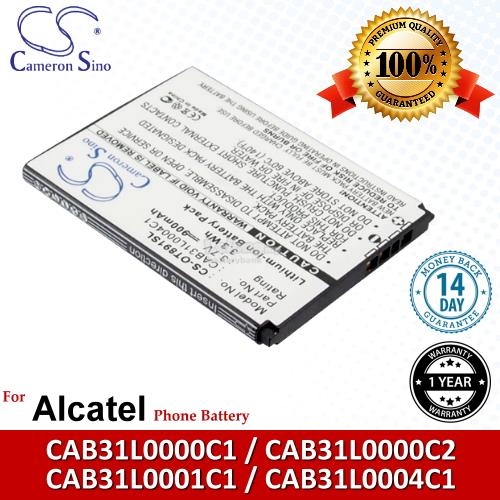 Ori CS OT891SL Alcatel CAB31Y0004C1 / A382G VF555 Battery