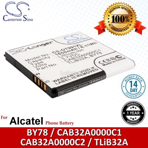 Ori CS OT991XL Alcatel One Touch 992D OT-992D / One Touch Star Battery