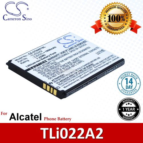 Ori CS OTA851SL Alcatel TLi022A2 Battery